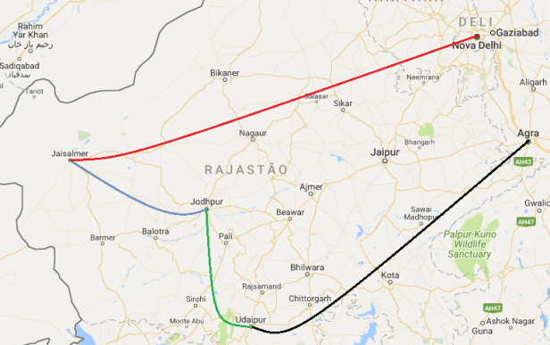 rajastan itineraray